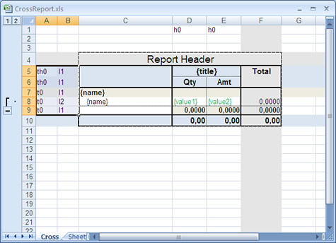 MonoReport report template generator editor Excel OpenOffice features product re