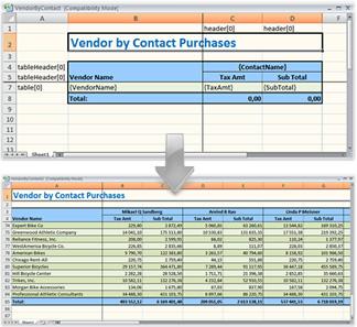 free net report generator excel or openoffice
